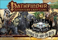 Pathfinder ACG: Skull & Shackles – Character Add-On Deck - Board Game Box Shot