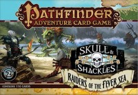 Pathfinder ACG: Skull & Shackles – Raiders of the Fever Sea Adventure Deck - Board Game Box Shot