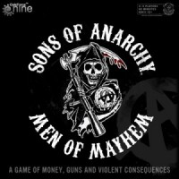 Sons of Anarchy: Men of Mayhem - Board Game Box Shot