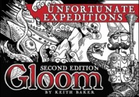 Gloom: Unfortunate Expeditions - Board Game Box Shot