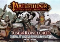 Pathfinder ACG: RotR – Fortress of the Stone Giants Adventure Deck - Board Game Box Shot