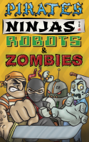 Pirates, Ninjas, Robots & Zombies - Board Game Box Shot