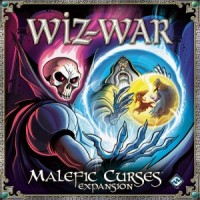 Wiz-War: Malefic Curses - Board Game Box Shot