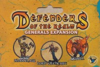 Defenders of the Realm: Generals Expansion - Board Game Box Shot