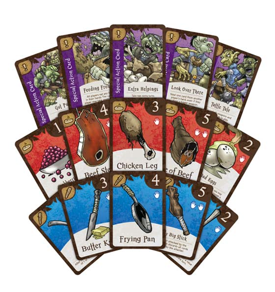 Goblin'a Breakfast cards