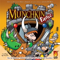 Munchkin Panic - Board Game Box Shot