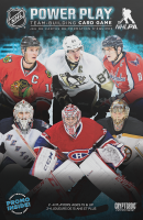 NHL Power Play Team-Building Card Game - Board Game Box Shot