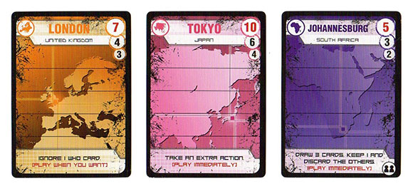 Pandemic: Contagion city cards