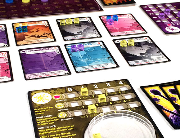 Pandemic: Contagion close-up
