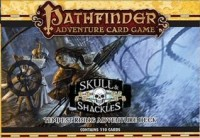 Pathfinder ACG: Skull & Shackles – Tempest Rising Adventure Deck - Board Game Box Shot