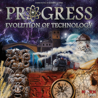 Progress: Evolution of Technology - Board Game Box Shot