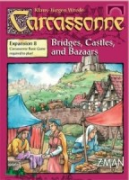 Carcassonne: Bridges, Castles, and Bazaars (Second Edition) - Board Game Box Shot