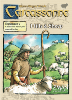 Carcassonne: Hills & Sheep - Board Game Box Shot