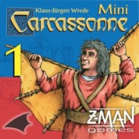 Carcassonne: Mini-expansion #1 – The Flying Machines (Second Edition) - Board Game Box Shot