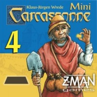 Carcassonne: Mini-expansion #4 – The Gold Mines (Second Edition) - Board Game Box Shot