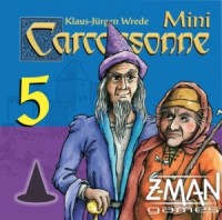Carcassonne: Mini-expansion #5 – Mage & Witch (Second Edition) - Board Game Box Shot