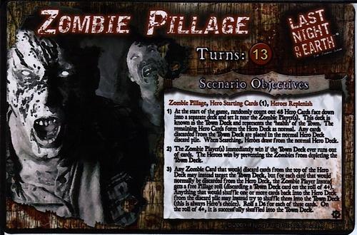 Last Night on Earth: Zombie Pillage scenario