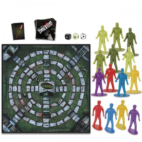 Oh No.. Zombies by Accoutrements Board Game