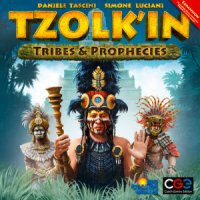 Tzolk'in: The Mayan Calendar – Tribes & Prophecies - Board Game Box Shot
