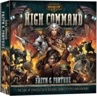 Warmachine: High Command – Faith & Fortune (core set) - Board Game Box Shot