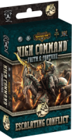 Warmachine: High Command – Faith & Fortune: Escalating Conflict - Board Game Box Shot