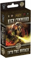 Warmachine: High Command – Into the Breach - Board Game Box Shot