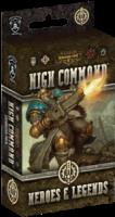 Warmachine: High Command – Heroes & Legends - Board Game Box Shot