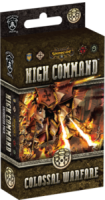 Warmachine: High Command – Colossal Warfare - Board Game Box Shot