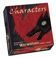 The Werewolves of Miller's Hollow: Characters - Board Game Box Shot