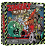 Zombies Keep Out - Board Game Box Shot