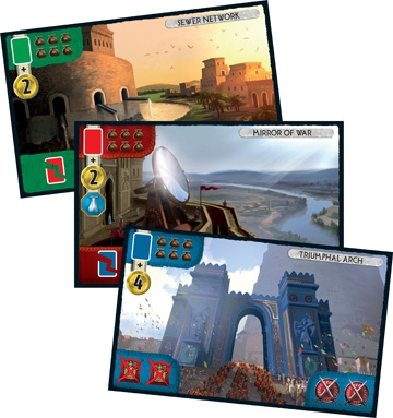 7 Wonders: Babel cards
