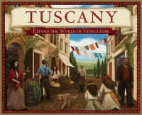 Tuscany - Board Game Box Shot