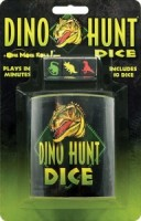 Dino Hunt Dice - Board Game Box Shot