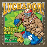 Luchador! Mexican Wrestling Dice (Second Edition) - Board Game Box Shot