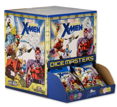 Marvel Dice Masters: Uncanny X-Men boosters