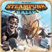 Steampunk Rally - Board Game Box Shot