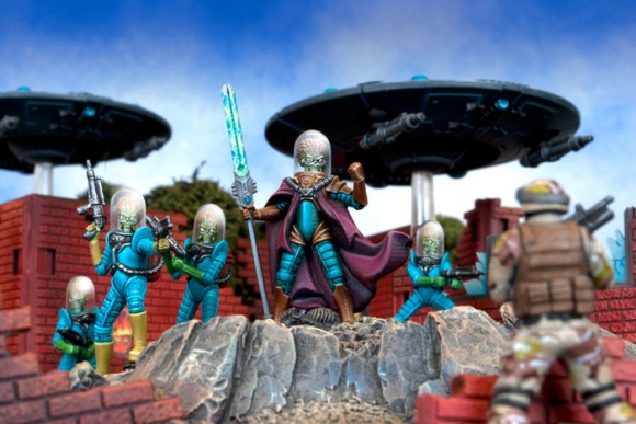Mars Attacks Painted