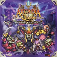 Arcadia Quest: Beyond the Grave - Board Game Box Shot