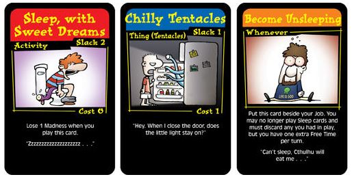 Chez Cthulhu cards