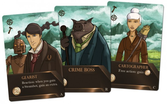 City of Iron Experts and Engines Cards