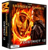 The Hunger Games: District 12 Strategy Game - Board Game Box Shot