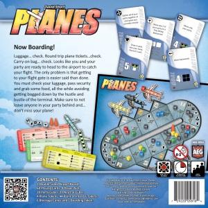 Planes box back