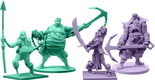 Rum and Bones miniatures
