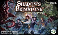 Shadows of Brimstone: Swamps of Death - Board Game Box Shot