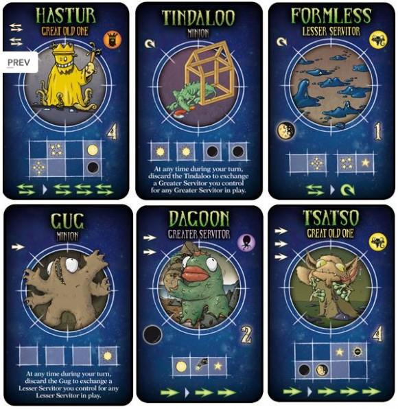 TSaR Cards
