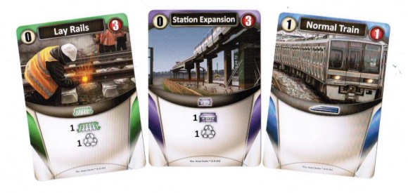 Trains Starting Cards