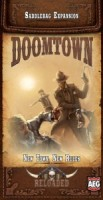 Doomtown: Reloaded – New Town, New Rules - Board Game Box Shot
