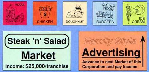 Fast Food Franchise pieces