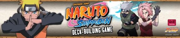 Naruto Shippuden Deck-Building Game banner