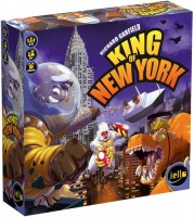 King of New York - Board Game Box Shot